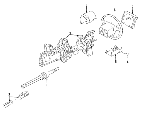 Steering/Steering Column for 2006 Ford F-150 #1