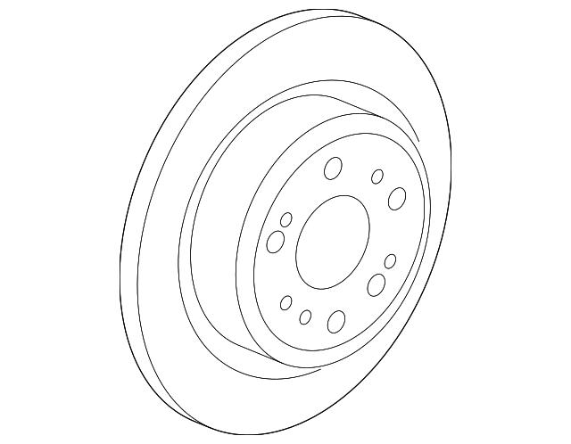 Disk, Rear Brake Drum In