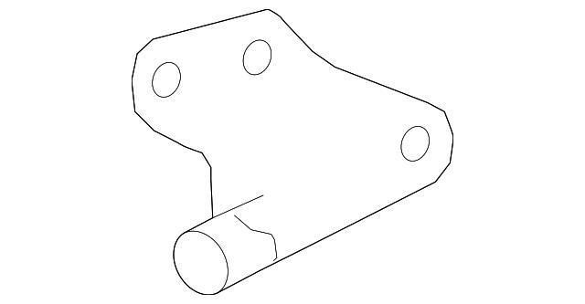 Genuine Ford Engine Camshaft Position Sensor 1w7z