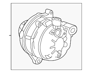 Alternator Assembly (AHGA81) (Mitsubishi) - Acura (31100-R1A-A01)
