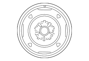 Wheel, Alloy - Toyota (42611-02D60)