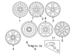 Wheel, Alloy - Toyota (42611-02D40)