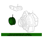 Pulley - Toyota (27411-11060)