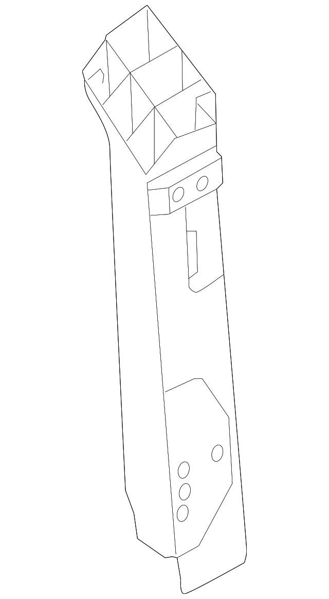 2011 2015 Audi R8 Hinge Pillar Reinforced 427 809 205 Ta
