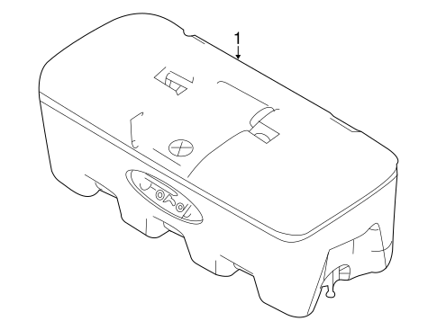 Body/Storage Compartment for 2014 Ford F-150 #1