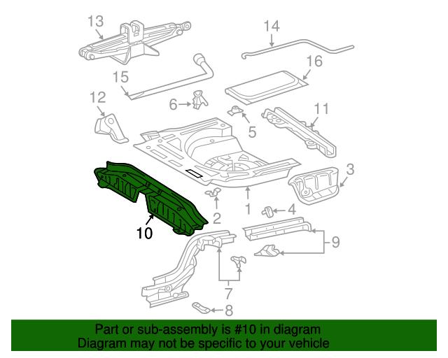 Honda Genuine 83505-SCV-A01ZA Door Lining Armrest Assembly
