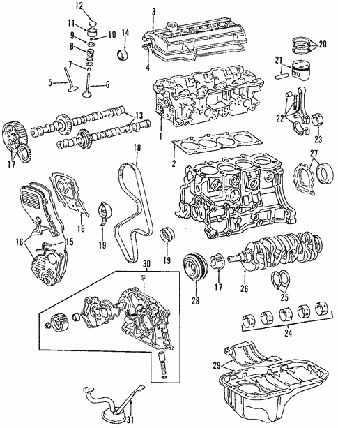Toyota 13041-03020-02 Engine Connecting Rod Bearing