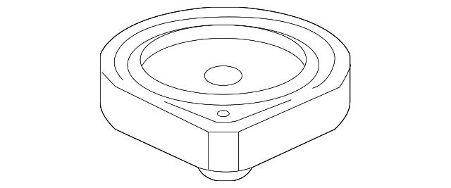 2009 2014 Acura Speaker Assembly 17cm Nd Single Els