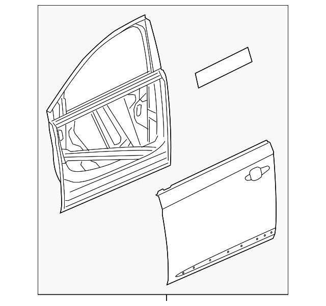 2014 2018 Chevrolet Impala Door Shell 84113578