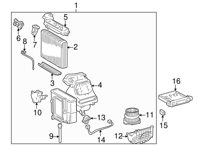 Scion Xa Xb Toyota Echo Blower Motor Resistor 87138-52010 NEW ORIGINAL!