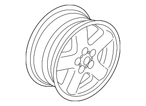 Wheel, Alloy - Land-Rover (LR020929)