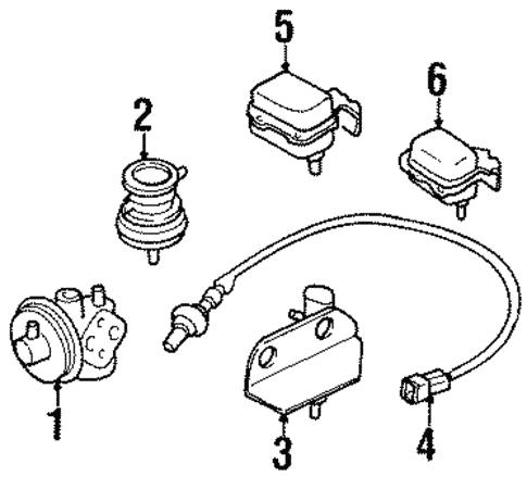 Egr System For 1998 Chevrolet Tracker