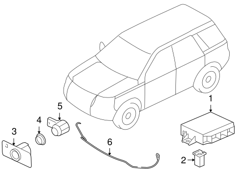 Electrical Components For 2012 Land Rover Lr2