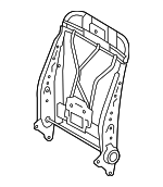TOYOTA Genuine 71640-35060 Seat Back Spring Assembly