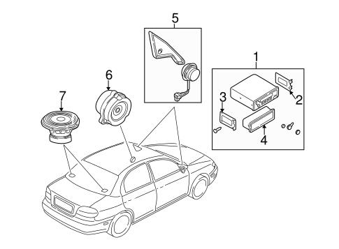 2003 Kia Spectra Brake System Diagram