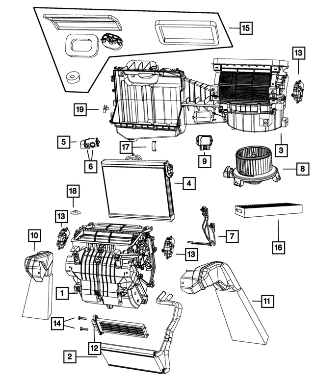 Distribution Housing - Mopar (68089117AA)