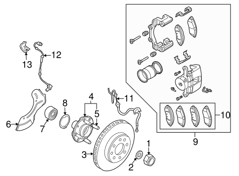 The Fuse Box Diagram For A 2007 Ford Edge moreover Lincoln Mkx Radiator Diagram as well 1990 Cadillac Deville Engine Diagram besides Camshaft Position Sensor Location 1994 Volvo 850 as well Starter Location On A 2011 Kia Sorento. on 2011 ford flex wiring diagram