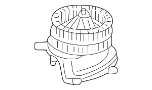 Blower Motor - Mercedes-Benz (202-820-93-42)