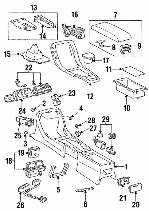 92 Lexus Sc300 Fuse Diagram