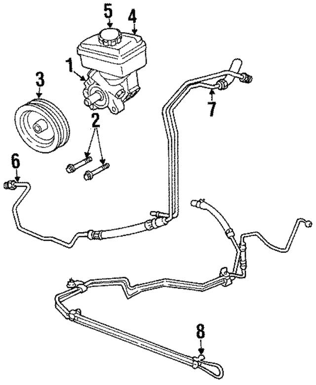 Olds Power Steering Diagram