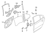 Window Regulator - Volvo (31253476)