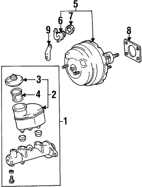 Hydraulic System For 1997 Toyota Celica