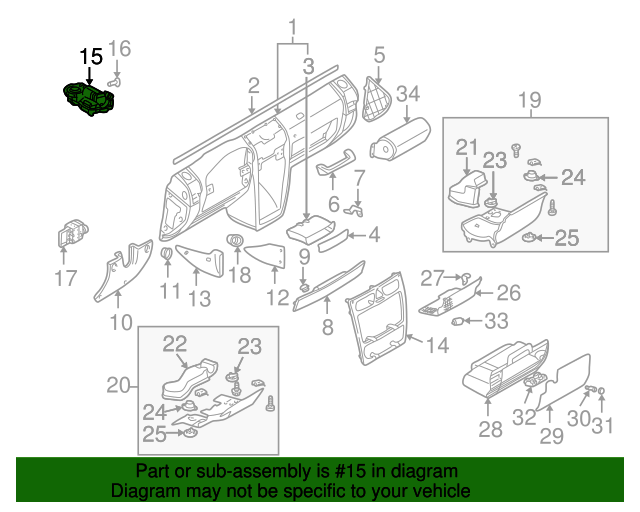 Ignition lock cylinder mercedes benz 211 462 01 30 for Mercedes benz parts by vin number