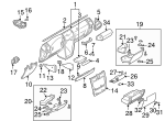 Cargo Net Hook - Mercedes-Benz (000-995-28-20)