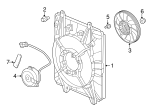 Fan, Cooling - Honda (38611-5PA-A01)