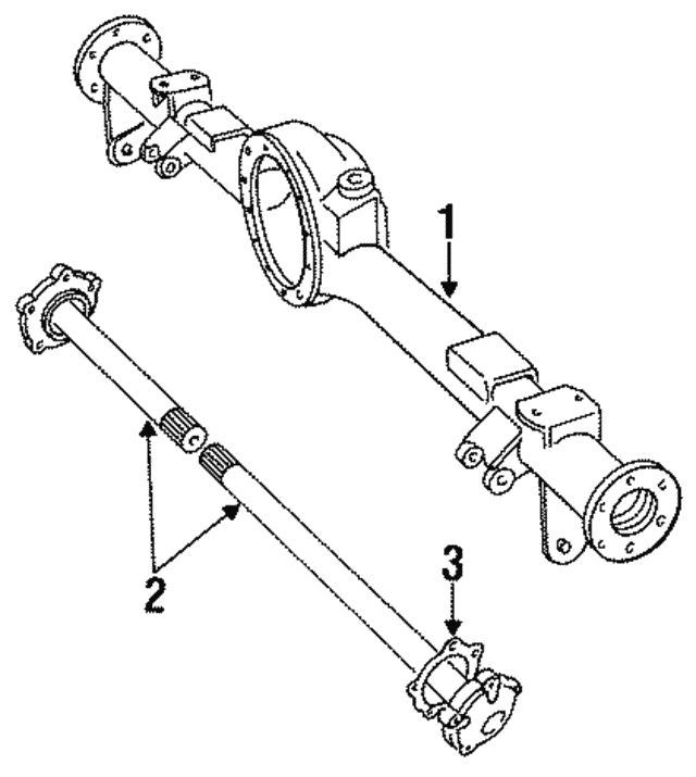 Axle Shaft - Land-Rover (FTC3271)