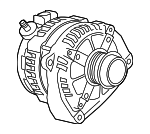 Alternator Replaced by Part Number 13536551