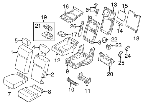 Front Seat Components For 2016 Ford F 150 Quickparts