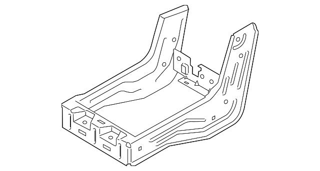 2015 2018 Ford F 150 Seat Frame Fl3z 9661708 A