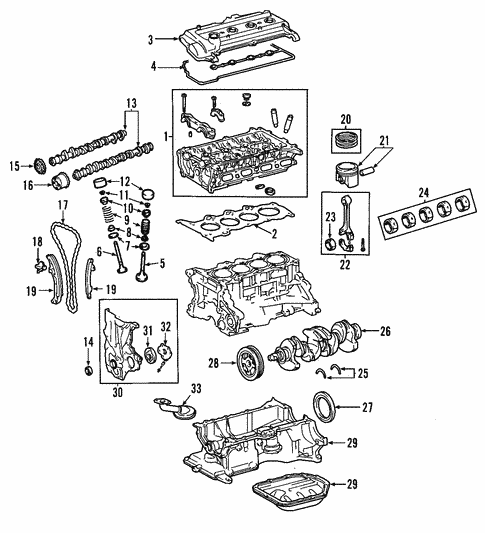[SCHEMATICS_48DE]  Oil Pan for 2002 Toyota Prius | Toyota Parts Center | 2002 Toyota Echo Engine Diagram |  | Olathe Toyota Parts Center
