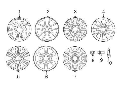 Wheels for 2015 Toyota Tundra #0