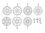 Wheel, Alloy - Toyota (42611-0C240)