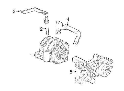 Oem 1999 Buick Park Avenue Alternator Parts