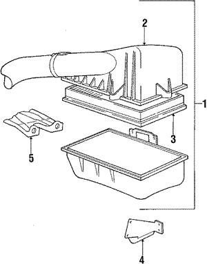 Air Cleaner Assembly Cover