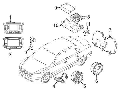 Sound System For 2018 Volkswagen Passat