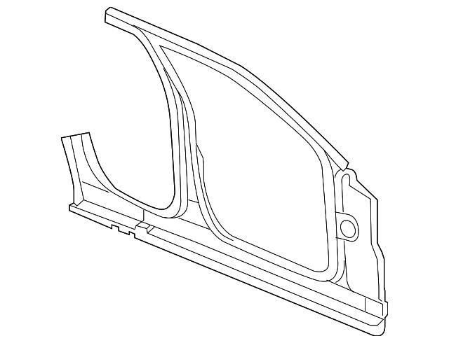 2008 Dodge Magnum Inner Panel 68034155aa