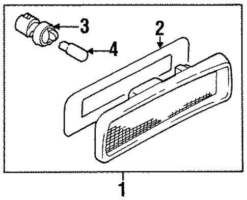 Rear Side Marker Lamps Scat