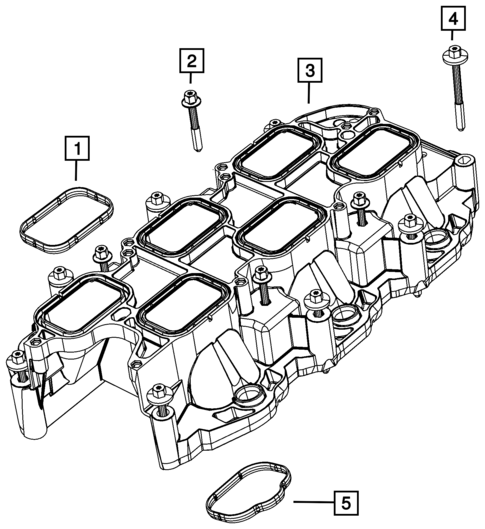 Manifolds And Vacuum Fittings For 2015 Jeep Grand Cherokee