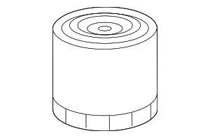 Oil Filter - Mopar (2AML00339A)