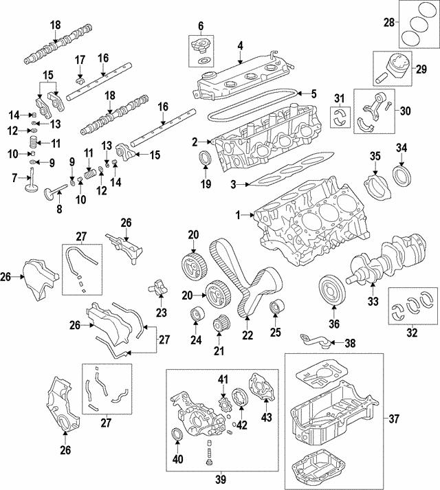 Mitsubishi Overhaul Gasket Set MD979281