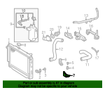 Radiator Assembly Lower Bracket