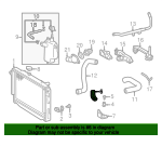 Radiator Assembly Upper Bracket