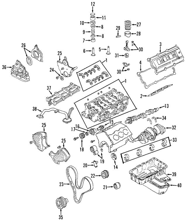 For 1999-2001 Isuzu VehiCROSS Caliper Repair Kit Rear Dorman 91361WW 2000