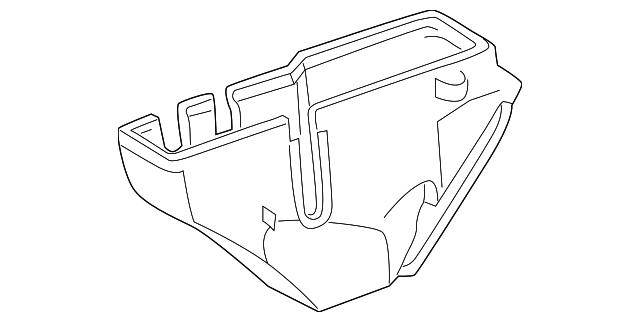 1994 Mercedes Benz Fuse Relay Box 202 545 26 01