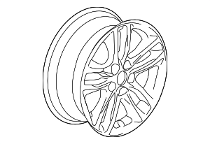 Wheel, Alloy - GM (22969720)