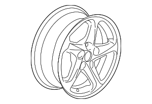 Wheel, Alloy - GM (22969719)
